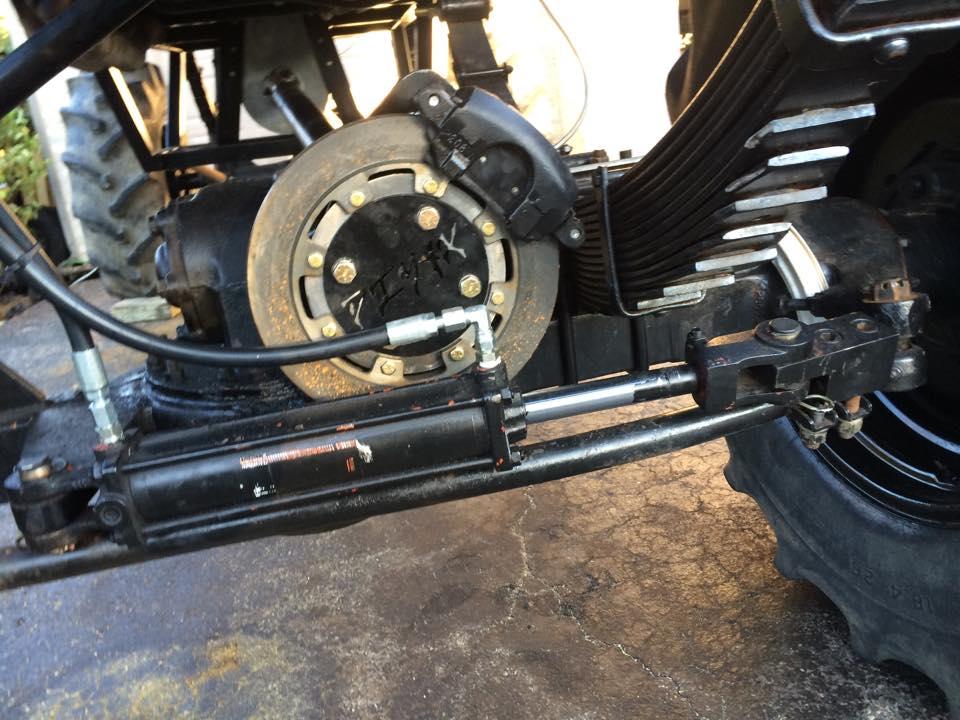 DIY 4x :: Brakes :: 2 5 Ton Rockwell Pinion Brake Kit