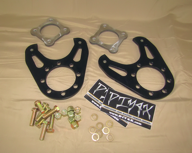 DIY 4x :: Brakes :: Dana 70 Disc Conversion Kit without rotors