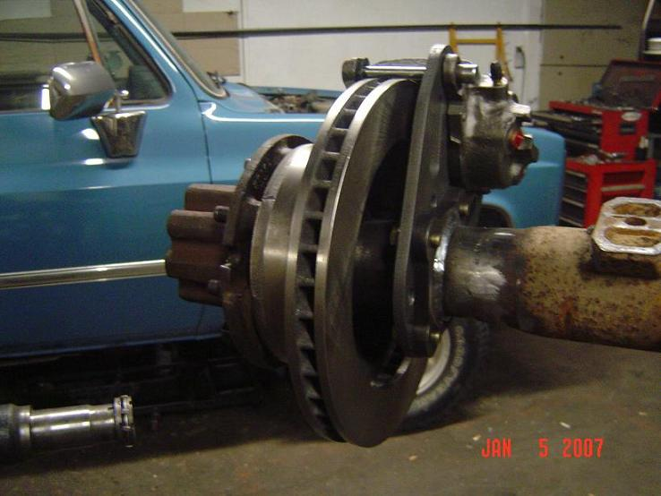 DIY 4x :: Brakes :: Dana 70 Disc Conversion Kit with rotors