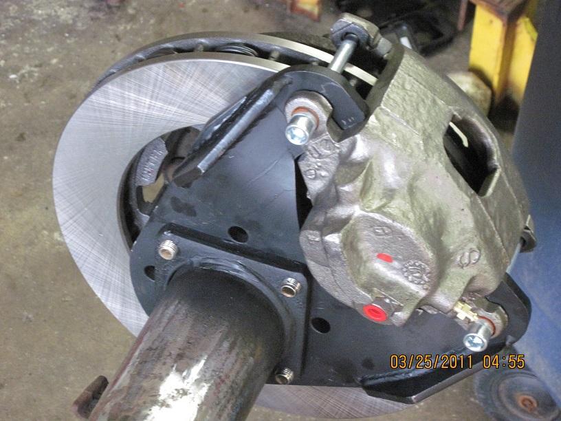 Diy 4x Brakes 14 Bolt Full Floating Disc Conversion Kit