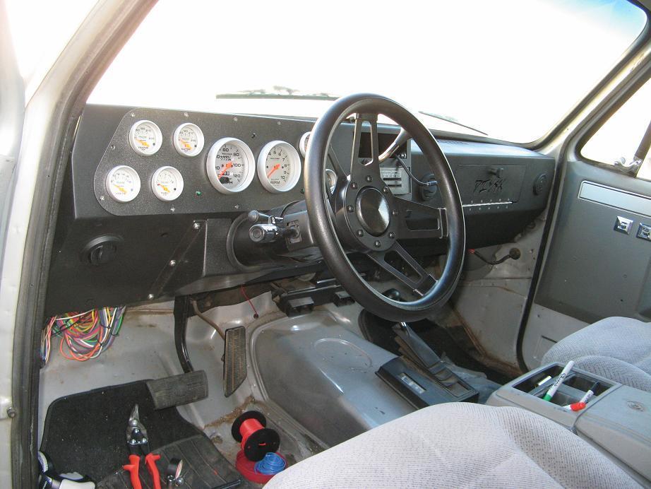 Diy 4x Interior Competition Aluminum Dash