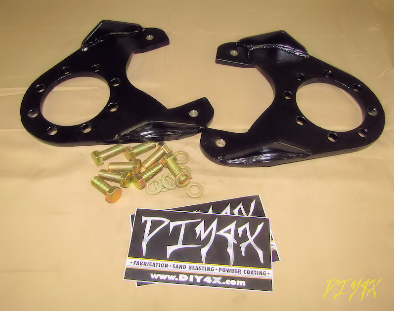 DIY 4x :: Brakes :: 14 BOLT FULL FLOATING DISC CONVERSION KIT