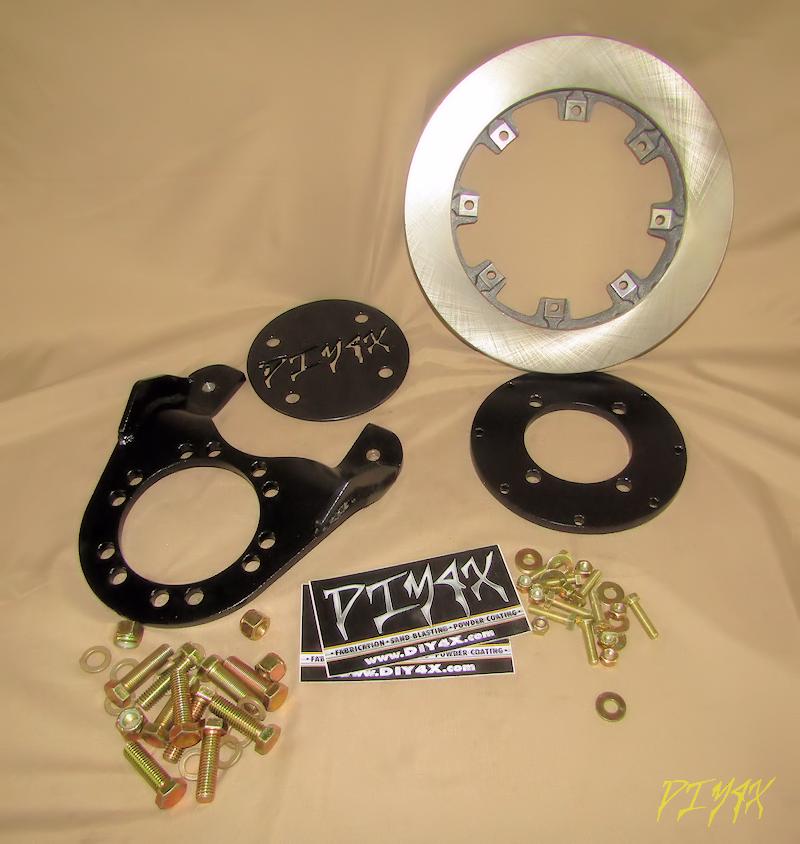 2.5 Ton Rockwell Pinion Brake Kit