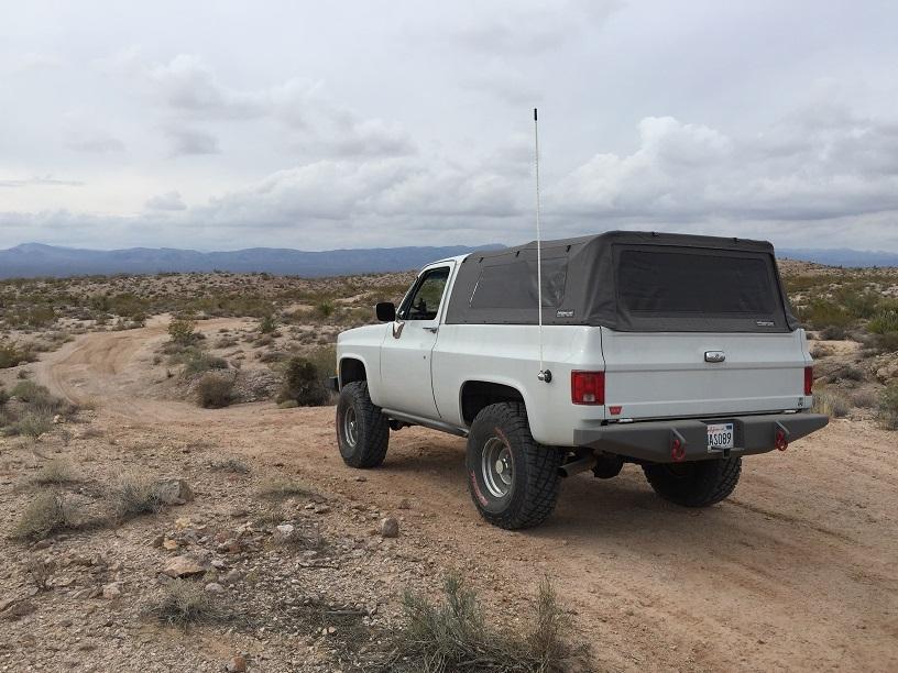 Gauntlet Rear Bumper