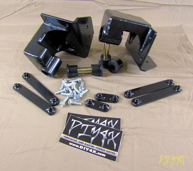 Shackle flip N Switch Zero basic kit