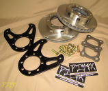 Dana 70 Disc Conversion Kit with rotors